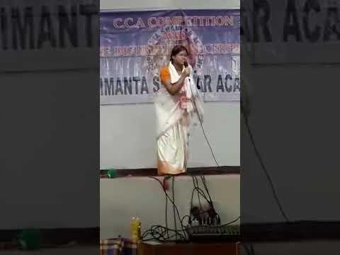 Shrimanta Shankar Academy Mono Act Competition By Drishti.