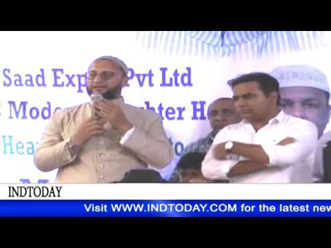 Asaduddin Owaisi appreciates K T Rama Rao for getting Apple Inc to Hyderabad