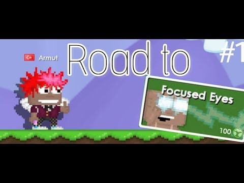 Growtopia | Road To Focused eyes #1 - 40 tokens! - YouTube