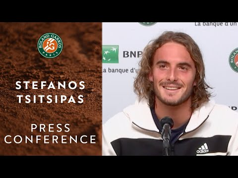 Stefanos Tsitsipas - Press Conference after Quarterfinals | Roland-Garros 2020