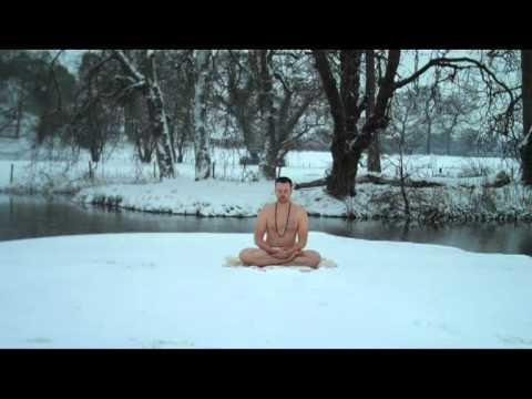 Demonstration Of The Inner Fire Or Tummo Meditation Youtube