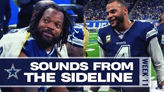 Cowboys Mic'd Up vs. Lions 'I Got You At Least 15 Points!' | Sounds From The Sideline