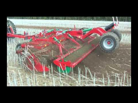 Сельхозтехника Kverneland  Qualidisc: Компактная дисковая борона с шириной захвата от 3 до 7 метров