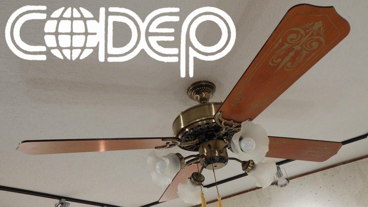 Codep Regency Ceiling Fan | 1080p HD Remake - ViYoutube