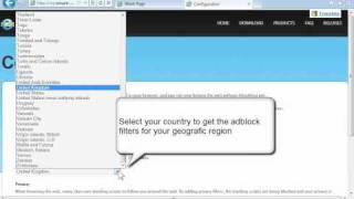 Install Adblock for Internet Explorer 9