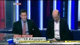 "Jonathan Sacerdoti and Andrew Gilligan on Sky News' ""Press Review"", 11 February 2012"