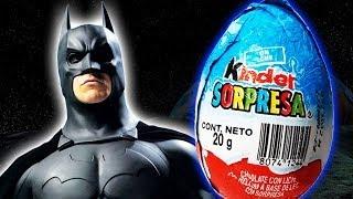 Kinder Surprise Egg - Batman DC Comics (Justice League)  Inside my Kinder Chocolate!