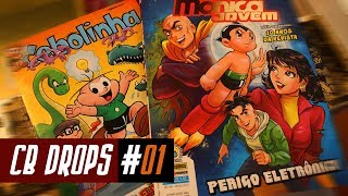 OSAMU TEZUKA REENCONTRA A TURMA DA MÔNICA | CB DROPS #01 Video