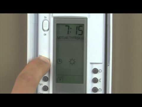 Programming Your SmartStat™ Radiant Heating Thermostat