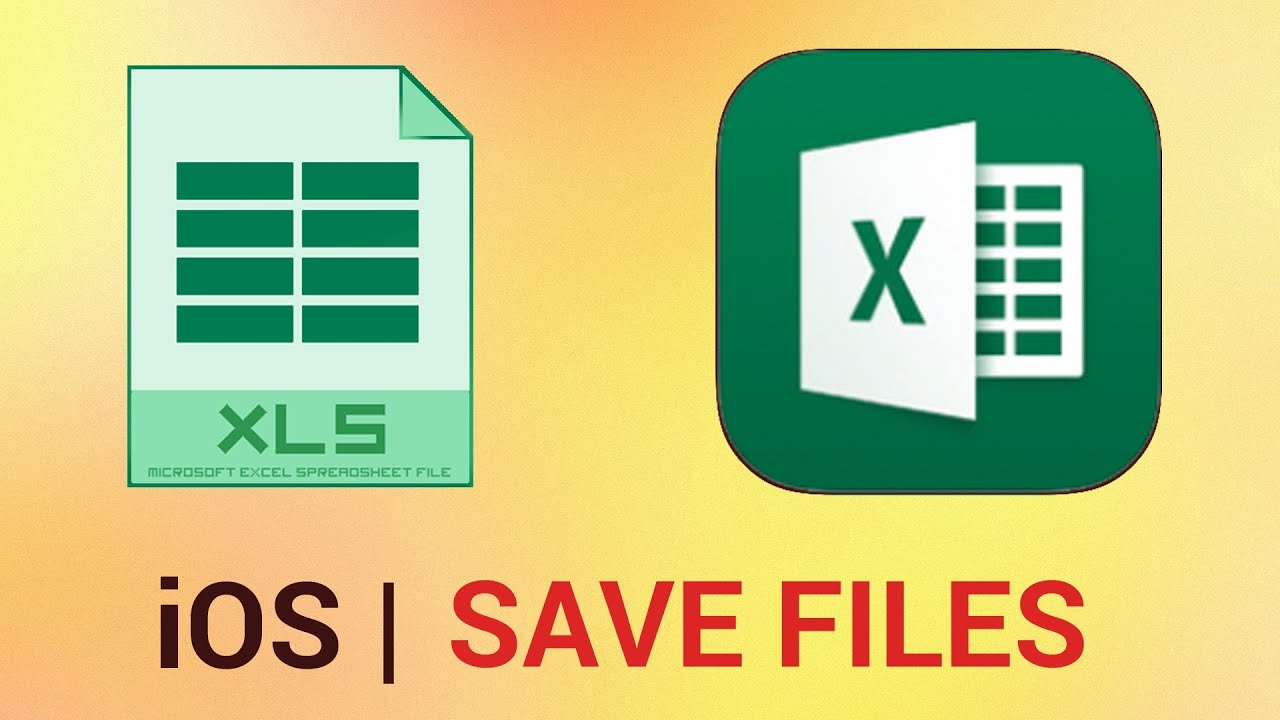 How to Save Files in Excel for iPad
