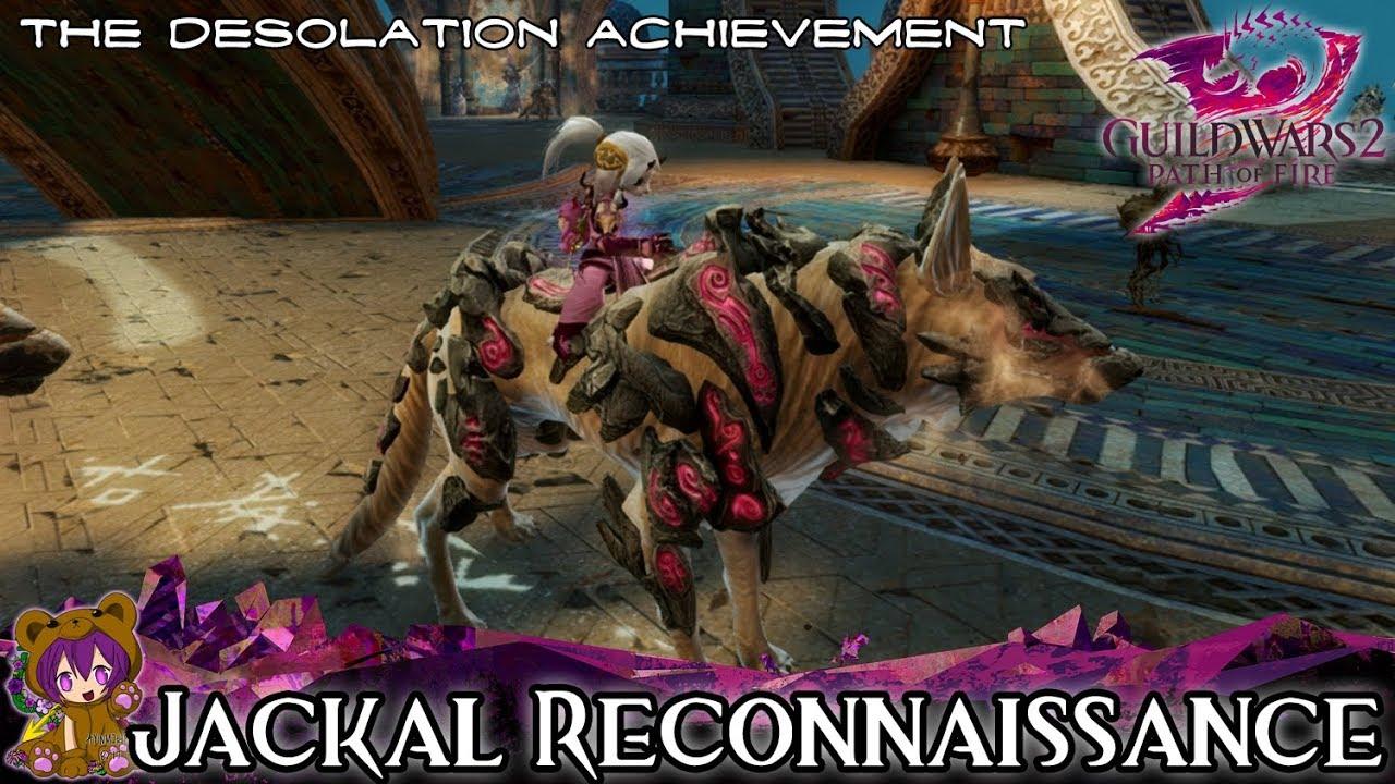 Confidential Bonestrand Letter.Guild Wars 2 Jackal Reconnaissance The Desolation Mastery Achievement