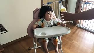 만세송이브로콜리닭진밥 먹는 지안이
