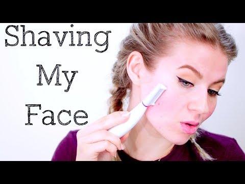 Shaving My Face: Sonicsmooth Dermaplaning & Exfoliating System | Milabu