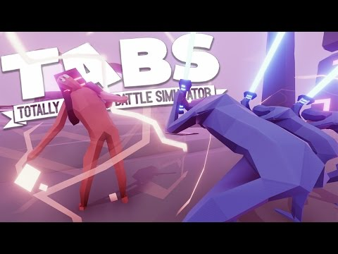 Totally Accurate Battle Simulator - Neon Units - Best Unit Yet? - TABS Gameplay Highlights