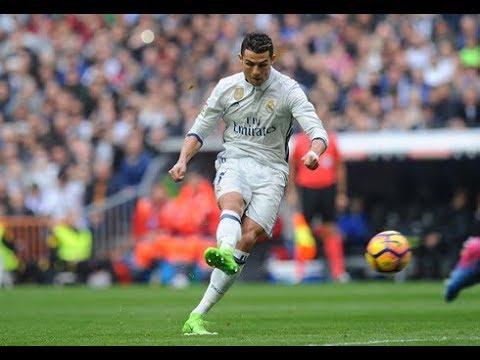 Cristiano Ronaldo Power Shot And Accuracy Youtube