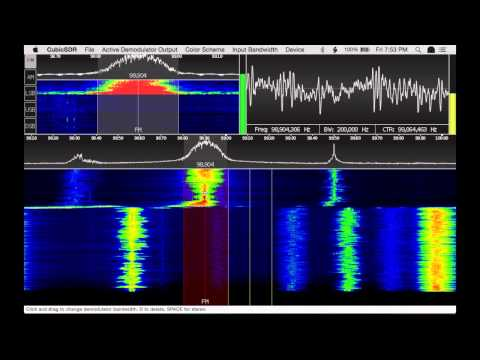 CubicSDR v0.01 Early Preview