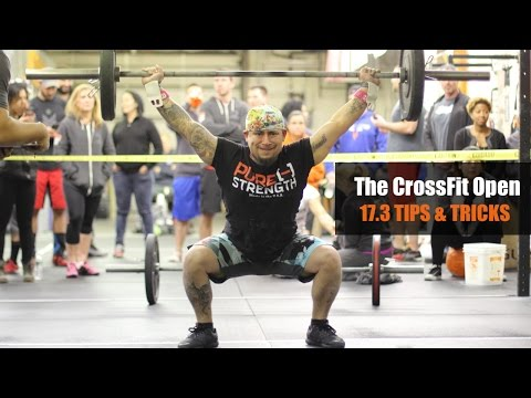 The CrossFit Open: 17.3 TIPS & TRICKS [STRATEGY INCLUDED!]