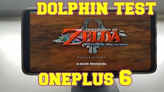 OnePlus 6 Dolphin test/Snapdragon 845 Gamecube games/Adreno 630 Gaming/2018