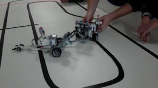 Урок робототехники факультета TEEN
