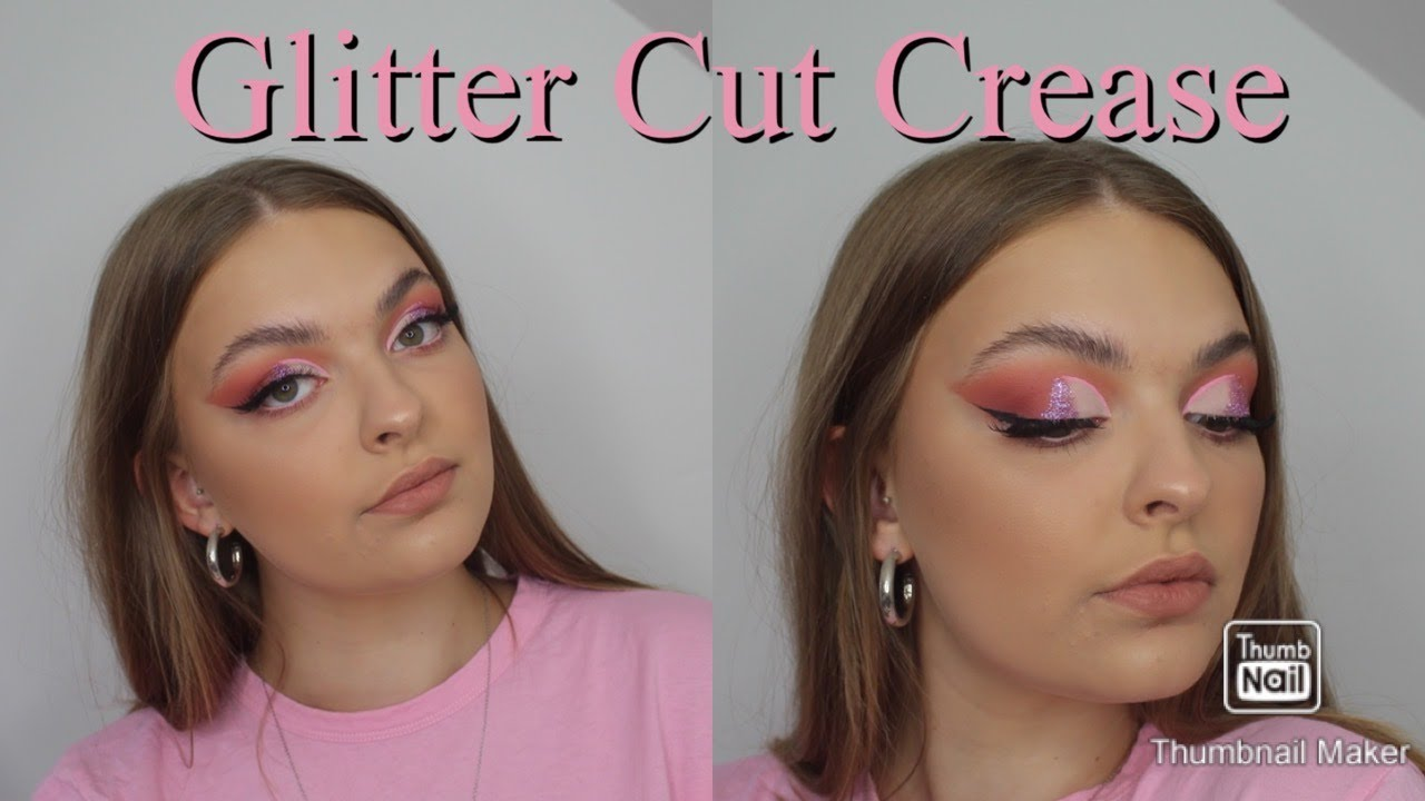 Download Berry and Glitter Cut Crease Quick and Easy Tutorial