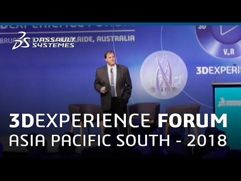 3DEXPERIENCE Forum Asia Pacific South 2018 - Future of Air & Sea Defence - Dassault Systèmes