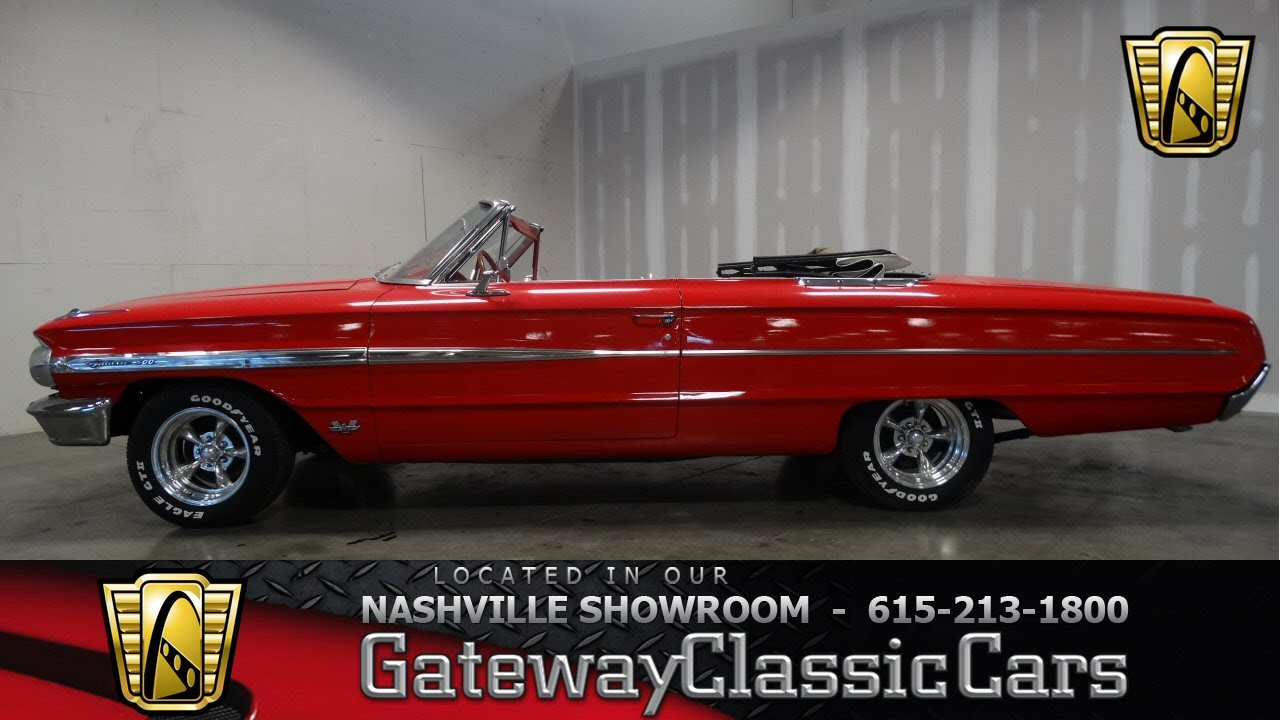 1964 Ford Galaxie 500 Converitble - Gateway Classic Cars of ...