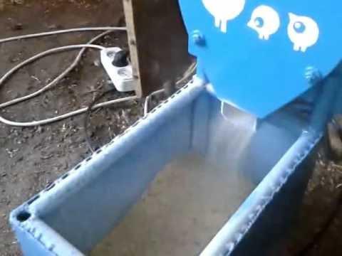 Дробилка для пластика самодельная дробилка смд 108 в Мичуринск