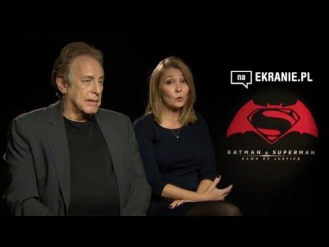 Wywiad z Deb Snyder oraz Charlesem Rovenem - Batman v Superman: Świt Sprawiedliwości
