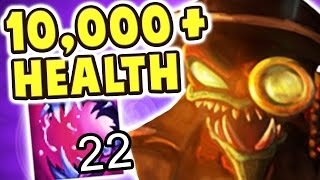 INVINCIBLE 10,000+ HEALTH NEW CHO'GATH JUNGLE 1-SHOT FEASTS | NO COUNTERPLAY | 22 STACKS Nightblue3