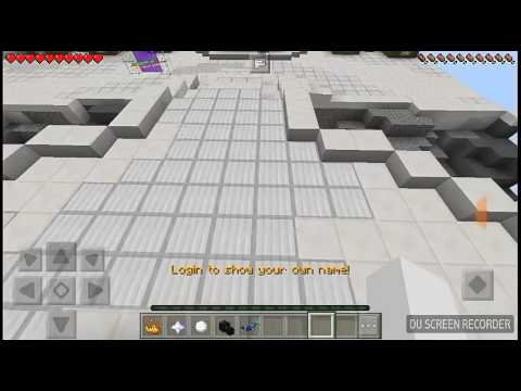 Minecraft pe how to register on bedwars server - YouTube