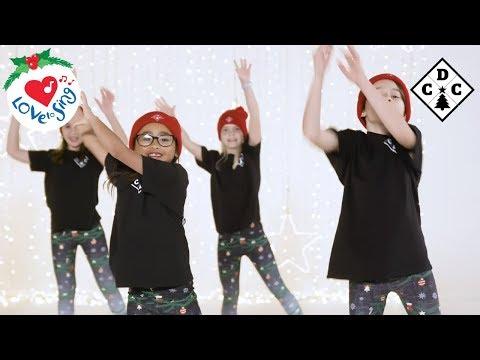 Jingle Bells Christmas Dance With Easy Dance Moves 2019 🎄 Christmas Dance Crew