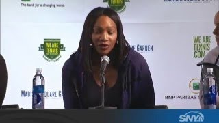 Serena Williams is shocked about Sharapova