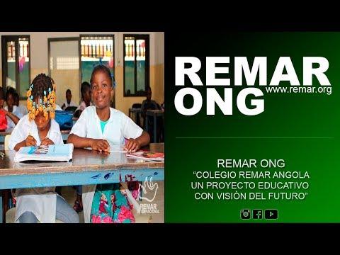 REMAR ONG - Colegio Remar Angola, un proyecto educativo con visión de futuro.