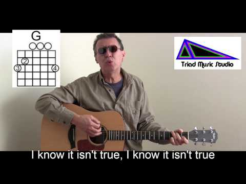 Nazareth - Learn How to Play Love Hurts Guitar Cover with Lyrics/Chords & Song Lesson