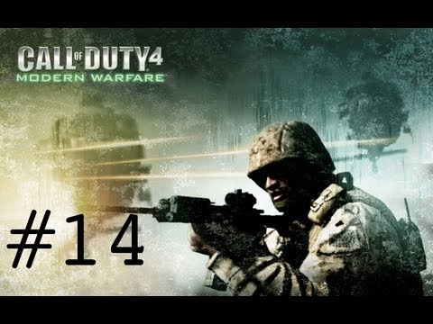 Let's Play Call Of Duty 4: Modern Warfare Part 14: Hiding In The Grass