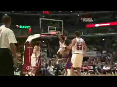 Brad Miller: Player of the Game vs Pistons