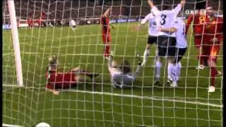 [EURO 2012 Quali] Belgien 4-4 Österreich // Belgium 4-4 Austria // 12.10.2010