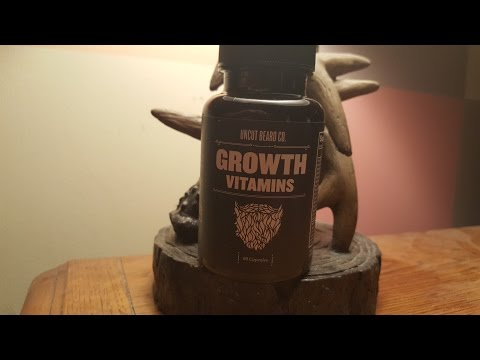 Beard growth vitamins and oil dollar beard club review part 2