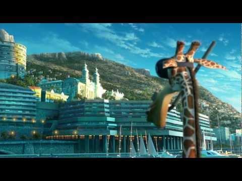 Мадагаскар 3  Выступление в цирке в HD