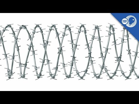Barbed Wire: Where did it come from? | Stuff of Genius