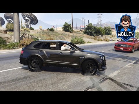 2018 Bentley Bentayga Black Edition - British Luxury SUV Simulator - GTA V Police Chase Gameplay FHD