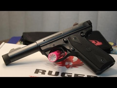 SILENCER READY - Ruger 22 / 45 Mark III - The Lighthouse Lady