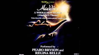 A Whole New World - Peabo Bryson & Regina Belle with lyrics