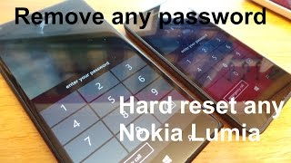 How to factory/hard reset any Nokia Lumia 520, 625, 630, 720, 730, 830, 920, 1020, 1320, 1520