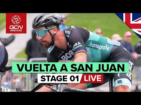 RACE REPLAY: Vuelta A San Juan 2020 Stage 1 | San Juan City
