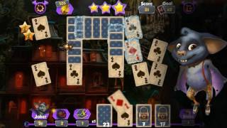 Bewitched Solitaire gameplay video