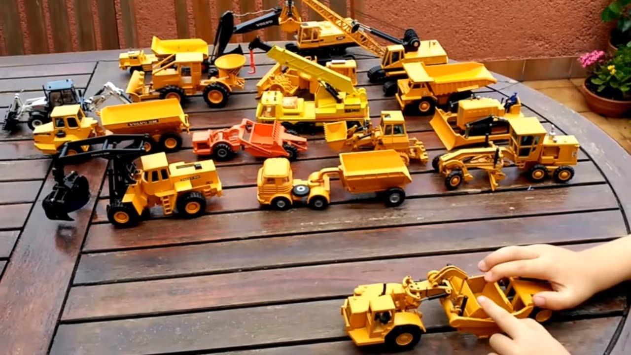Cat Construction Toys For Toddlers : Juguetes obra joal excavadora camión grua kids toys