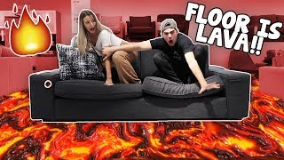 One of Chris And Kris's most viewed videos: EXTREME Floor Is Lava Challenge! (IMPOSSIBLE)