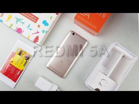 Review Xiaomi Redmi 5A Gold - Rp999.000
