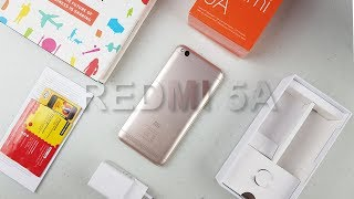 Review Xiaomi Redmi 5A Gold - Rp999.000